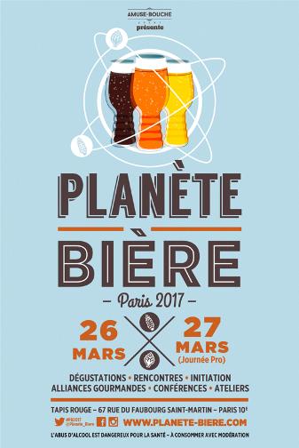 Planète Bière 2017 à Paris