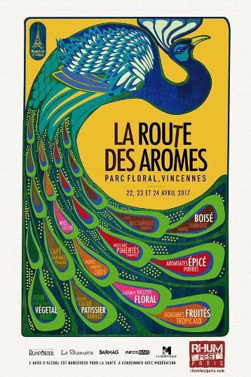 Rhum Fest Paris 2017 : l'affiche dévoilée