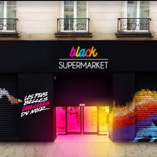 Black Supermarket : nouveau lieu tendance et éphémère à Paris