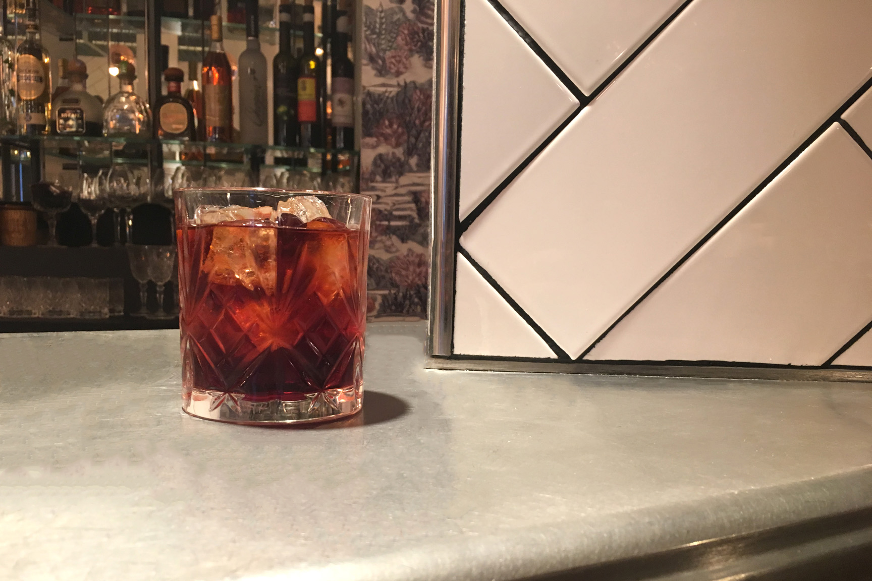 """Cocktail """"Black Sails"""""""