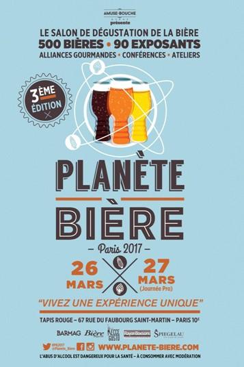 Planète Bière 2017 à Paris : le programme des animations