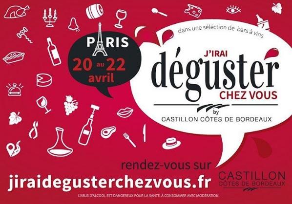 « J'irai déguster chez vous » de retour à Paris au printemps 2017
