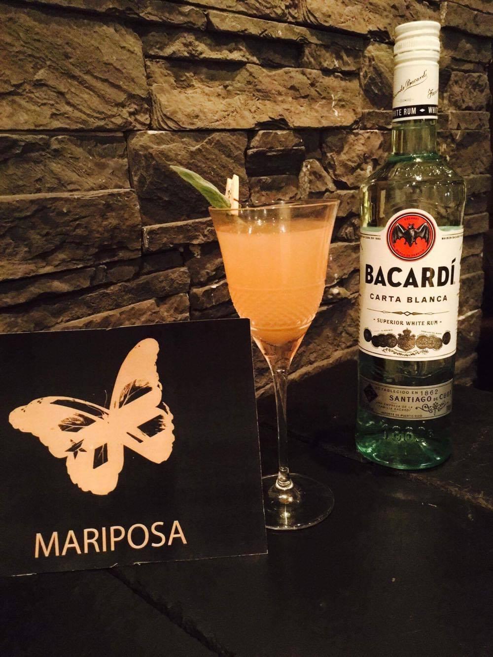 "Cocktail Signature : ""Le Mariposa"" by Matthieu Pluta"