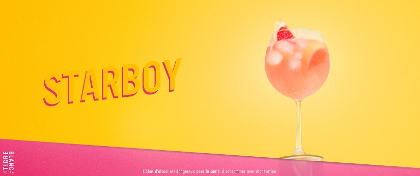 Recette du Starboy by Tigre Blanc Vodka