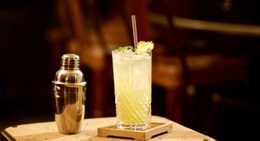 """Cocktail """"La Main Verte"""" pour Caraïbos"""