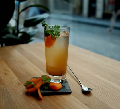 """Cocktail Signature : """"Le Highball"""" by Lilya"""