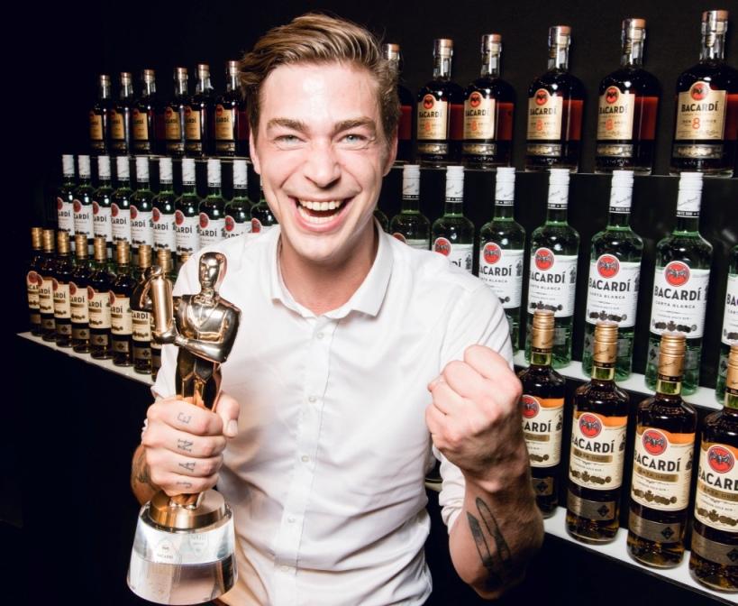 Ran Van Ongevalle, vainqueur de la finale globale Bacardi Legacy Cocktail Competition