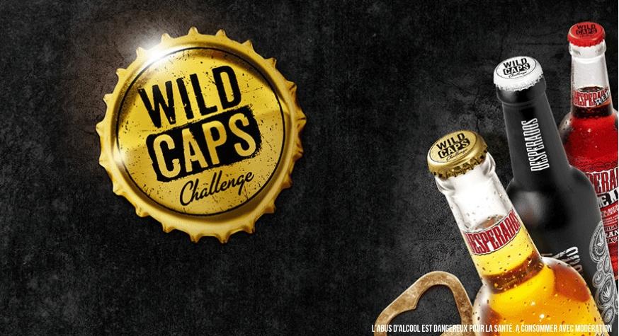 Inscrivez-vous sur le site www.wildcaps.fr (réservé aux pros du CHR)