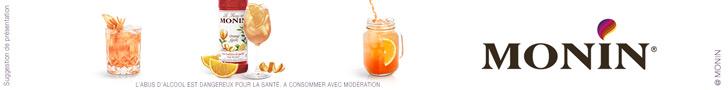 Testing bartender : Le Fruit de Monin Rhubarbe par Christopher Gaglione