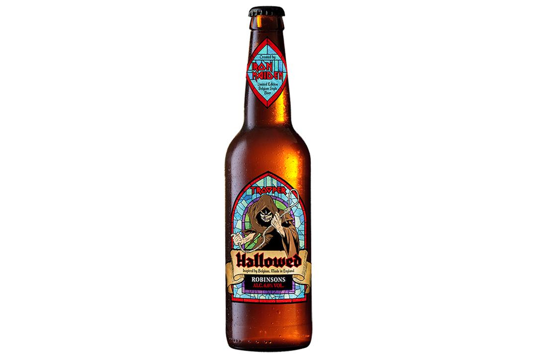 Hallowed : nouvelle bière signée Iron Maiden