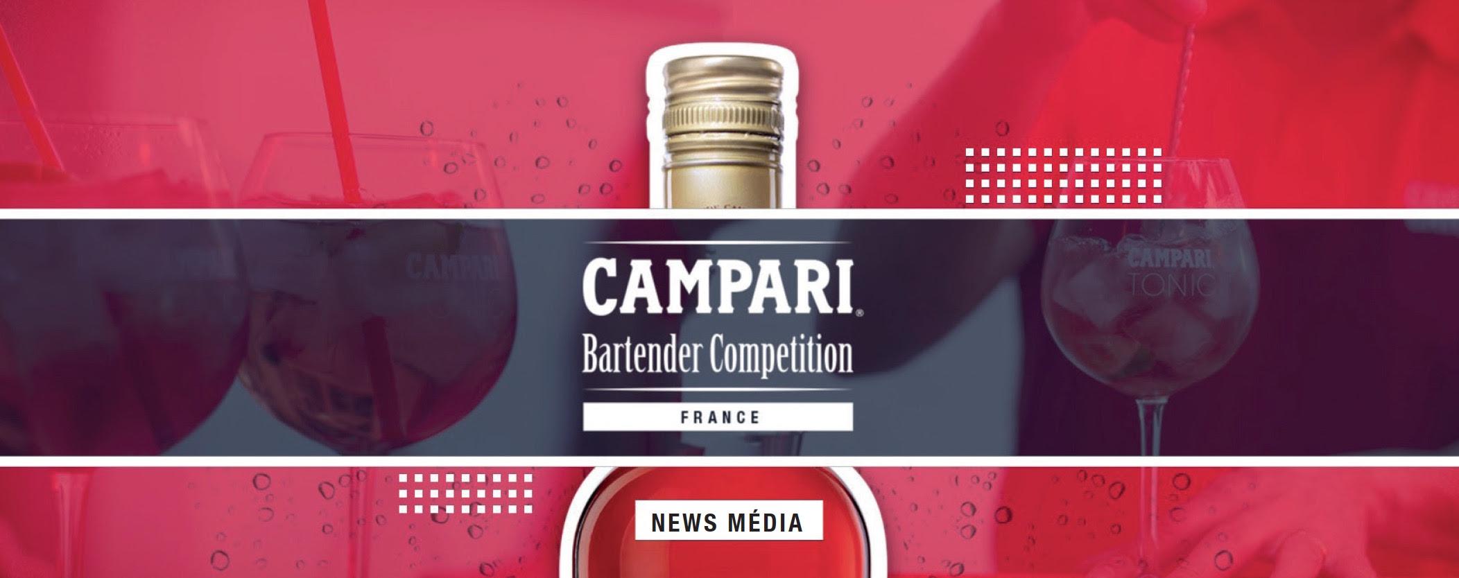 Finale du Campari Bartender Competition France 2017 à Paris