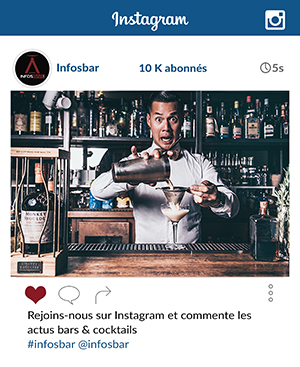 Rejoins les bars & cocktails lovers ♥️