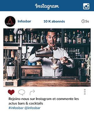 Rejoins les bars & cocktails lovers ♥️