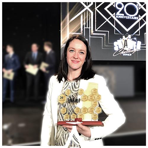 """Roxanne Remmery (La Réserve Paris) remporte la compétition des """"Etoiles"""""""