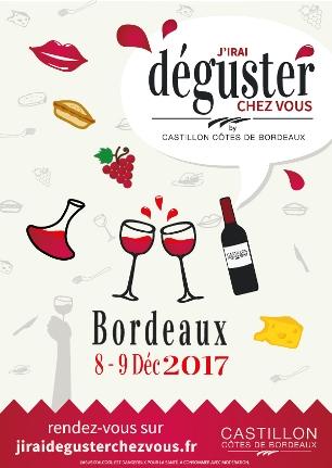 « J'irai déguster chez vous » de retour à Bordeaux