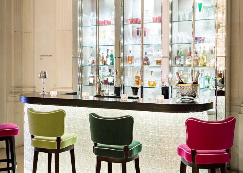 Bar du Cristal Room Baccarat // © Yann Deret