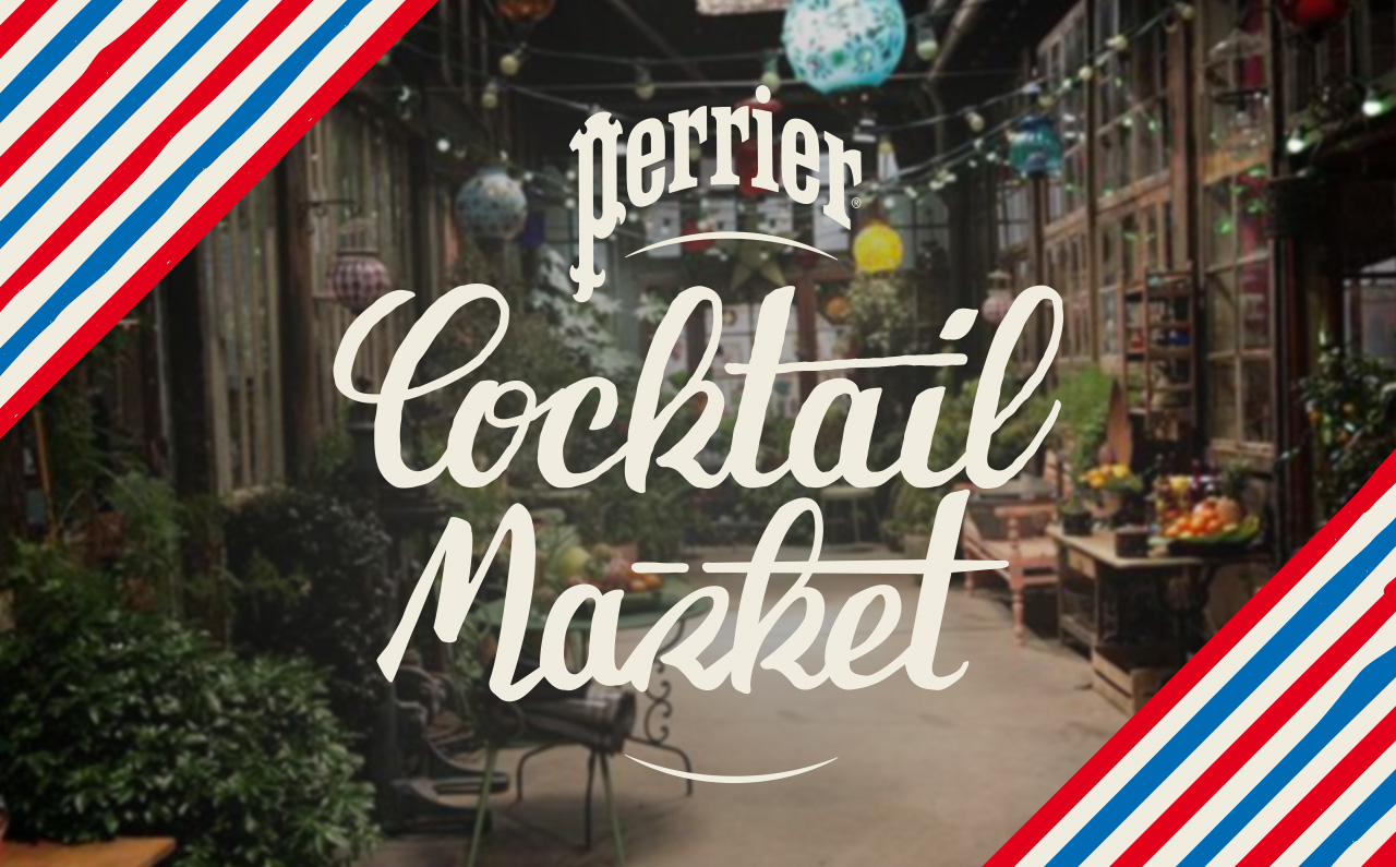 Paris Cocktail Week 2018 : le Perrier Cocktail Market