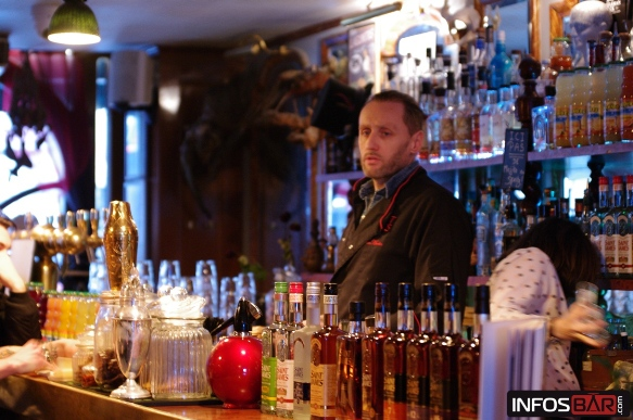Infosbar Inside : Masterclass The Bartenders Society 2018 au Dr Lupin à Paris
