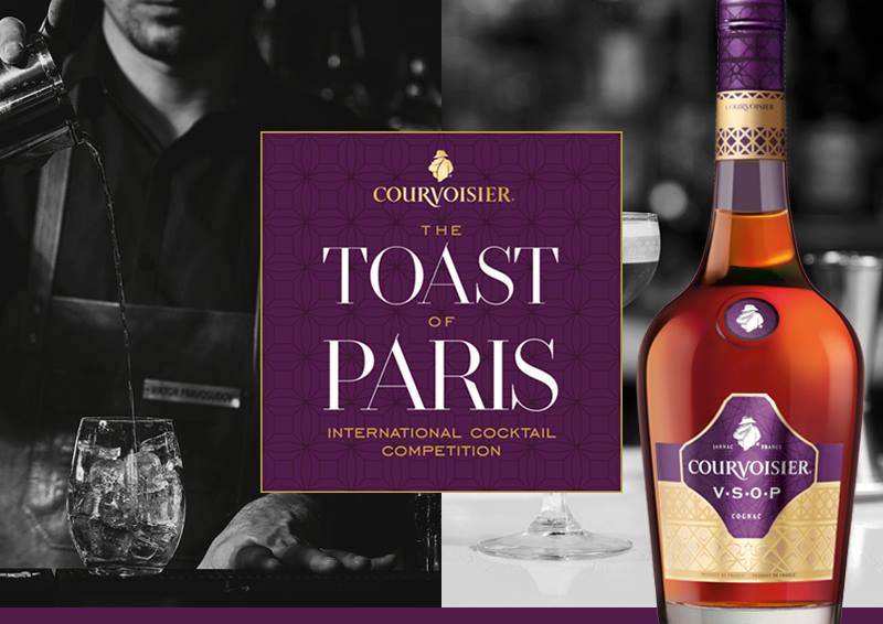 Masterclass Courvoisier : Toast of Paris 2018 avec Rebecca Asseline