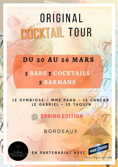 Original Cocktail Tour 2018 à Bordeaux