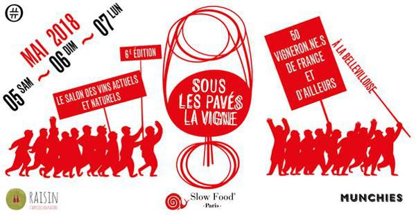 Sous les Pavés la Vigne, édition 2018, à La Bellevilloise