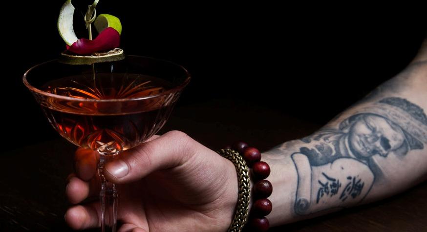 "Cocktail ""Ma Benz"" // © Shake N'Smash"