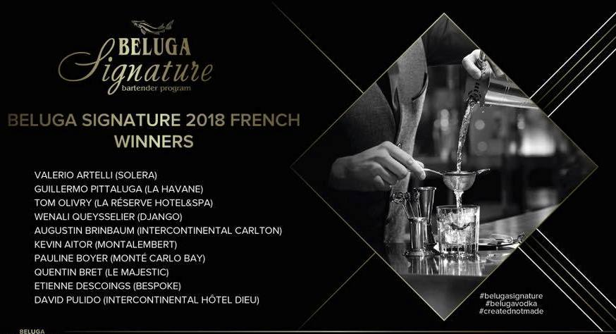Beluga Signature Creative contest Finale France 2018