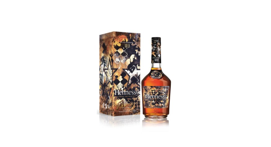 Hennessy Very Special Edition Limitée 2018 par Vhils