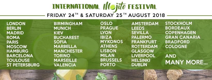 The International Mojito Festival 2018