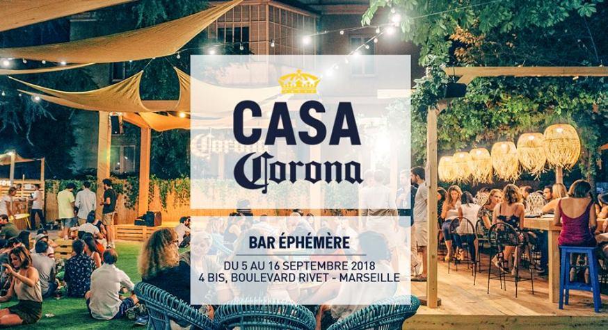 Casa Corona débarque à Marseille