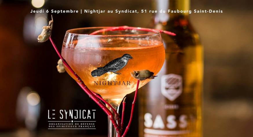Nightjar x Sassy au Syndicat à Paris