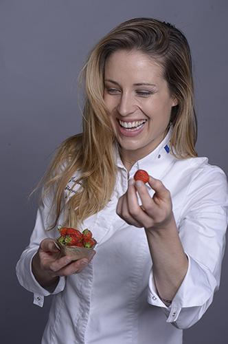 Johanna Le Pape, championne du monde des Arts Sucrés