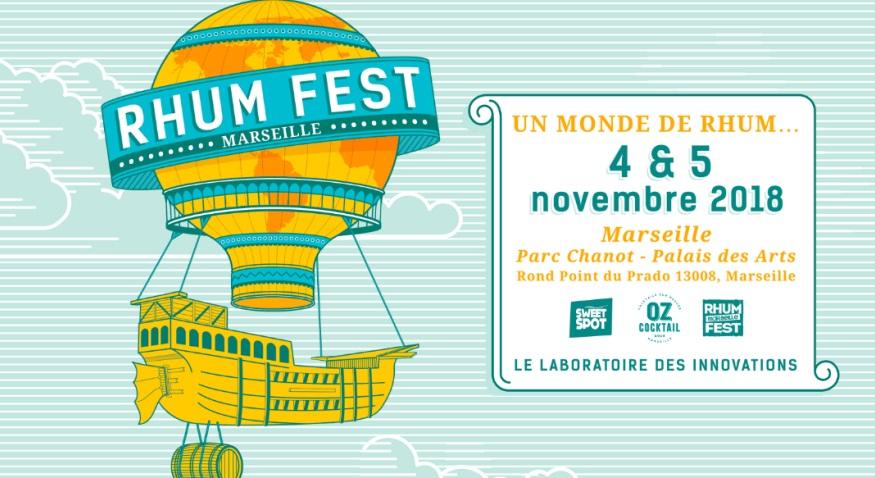 Rhum Fest Marseille 2018 : le programme des masterclasses