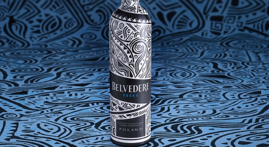 Fêtes de fin d'année 2018 : Belvedere x Laolu Senbanjo