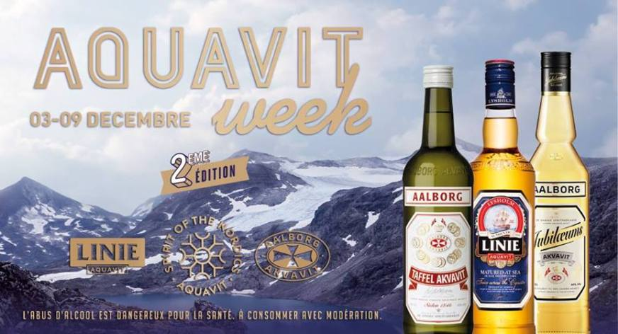 Aquavit Week 2018 chez Flora Danica à Paris