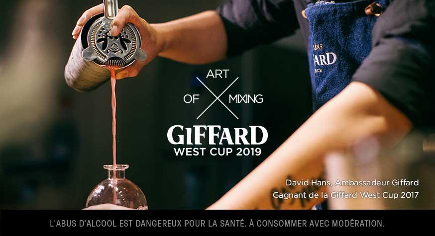 La compétition de bartenders Giffard West Cup 2019 est ouverte