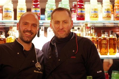 Matthias Giroud et Stephen Martin © Infosbar.com
