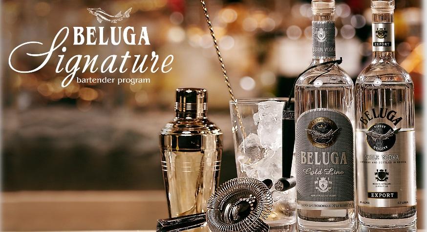 Beluga Signature et Bartender School 2019
