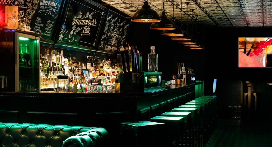 Nouvelle carte de cocktails au bar The Shamrock's Side à Marseille