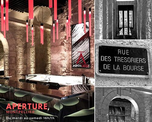 Infosbar Inside : Aperture, le nouveau bar cocktails and food de Julien Escot à Montpellier