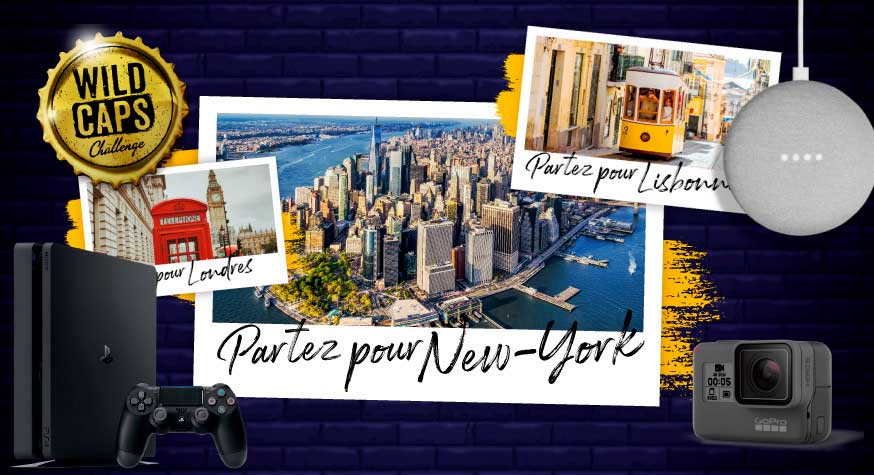 ​Partez à New York avec le Wild Caps Challenge by Desperados