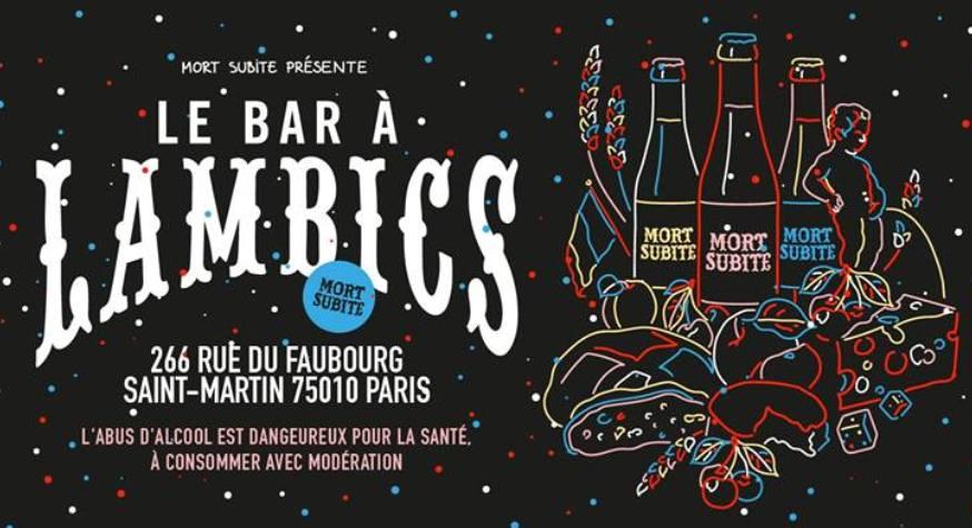 Bar à Lambics : bar éphémère signé Mort Subite à Paris