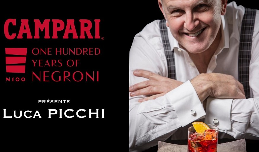 Masterclass Campari N100 avec Luca Picchi à l'hôtel de Crillon