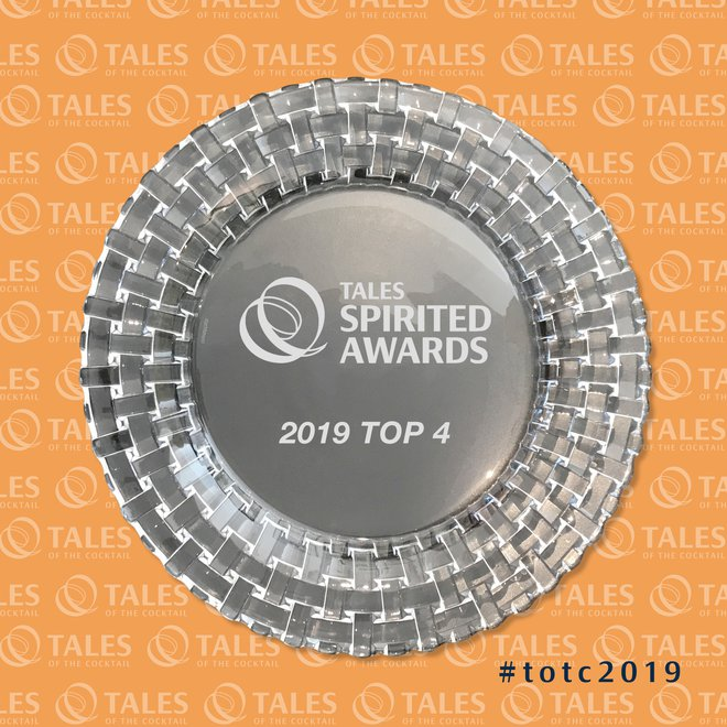 Tales of the Cocktail 2019 : le top 4 des finalistes des « Spirited Awards® »