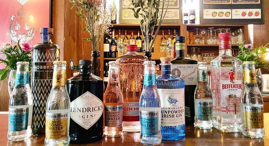 Cocktails au gin chez FrogPubs