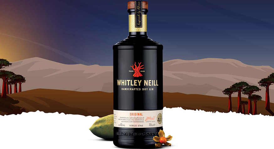 Gin Whitley Neill, une des marques phares du portefeuille de Halewood International