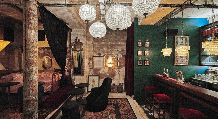 REHAB : nouveau bar d'hôtel caché à Paris