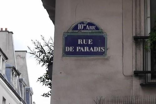 Rue de Paradis, rue Zéro déchet à Paris