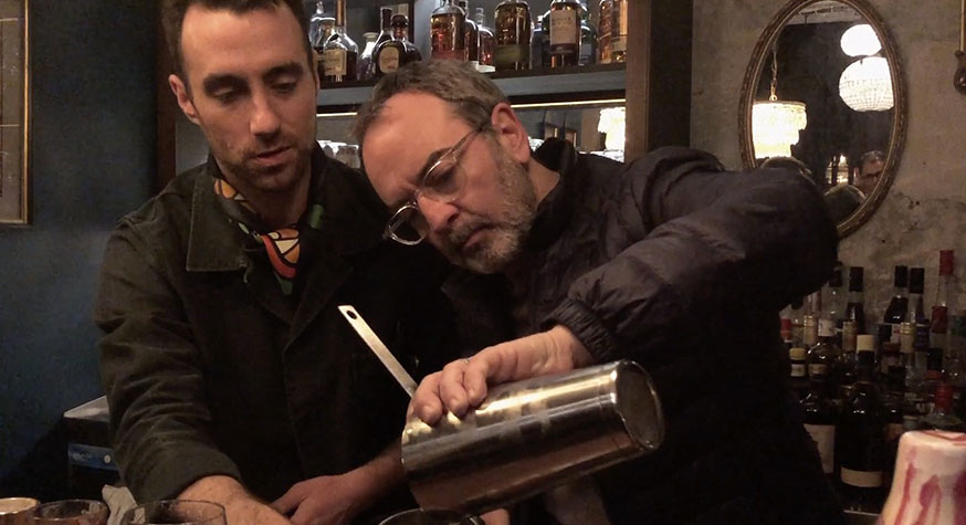 L'expérience cocktail de Bruno Solo avec les conseils avisés de François