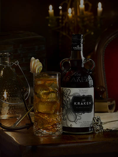 Le cocktail Kraken Stormy